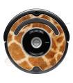 Girafa. Vinil decorativo para o Roomba - Série 500 600