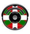 Ikurriña, Drapeau du Pays Basque. Autocollant pour Roomba - Série 500 600