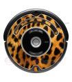 Leopardo. Vinil decorativo para o Roomba - Série 500 600