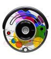 POP-ART Cercles Kandinsky. Vinyle pour Roomba - Série 500 600