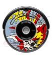POP-ART Explosion. Vinyl Roomba iRobot - 500 600 series