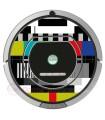 TV settings. Vinyl for Roomba - 700 800 Serie