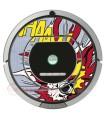POP-ART Esplosione di Warhol. Vinile IRobot Roomba - Serie 700