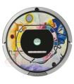 Kandinsky Abstract 1. Vinyl for Roomba iRobot - Serie 700