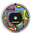 Kandinsky Abstract 2. Vinyl for Roomba iRobot - Serie 700