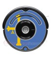 Asturian flag. Sticker for Roomba - 500 & 600 series